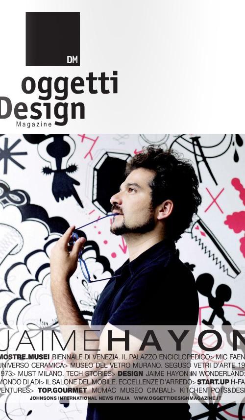 OGGETTI DESIGN COVER OTTOBRE 2013
